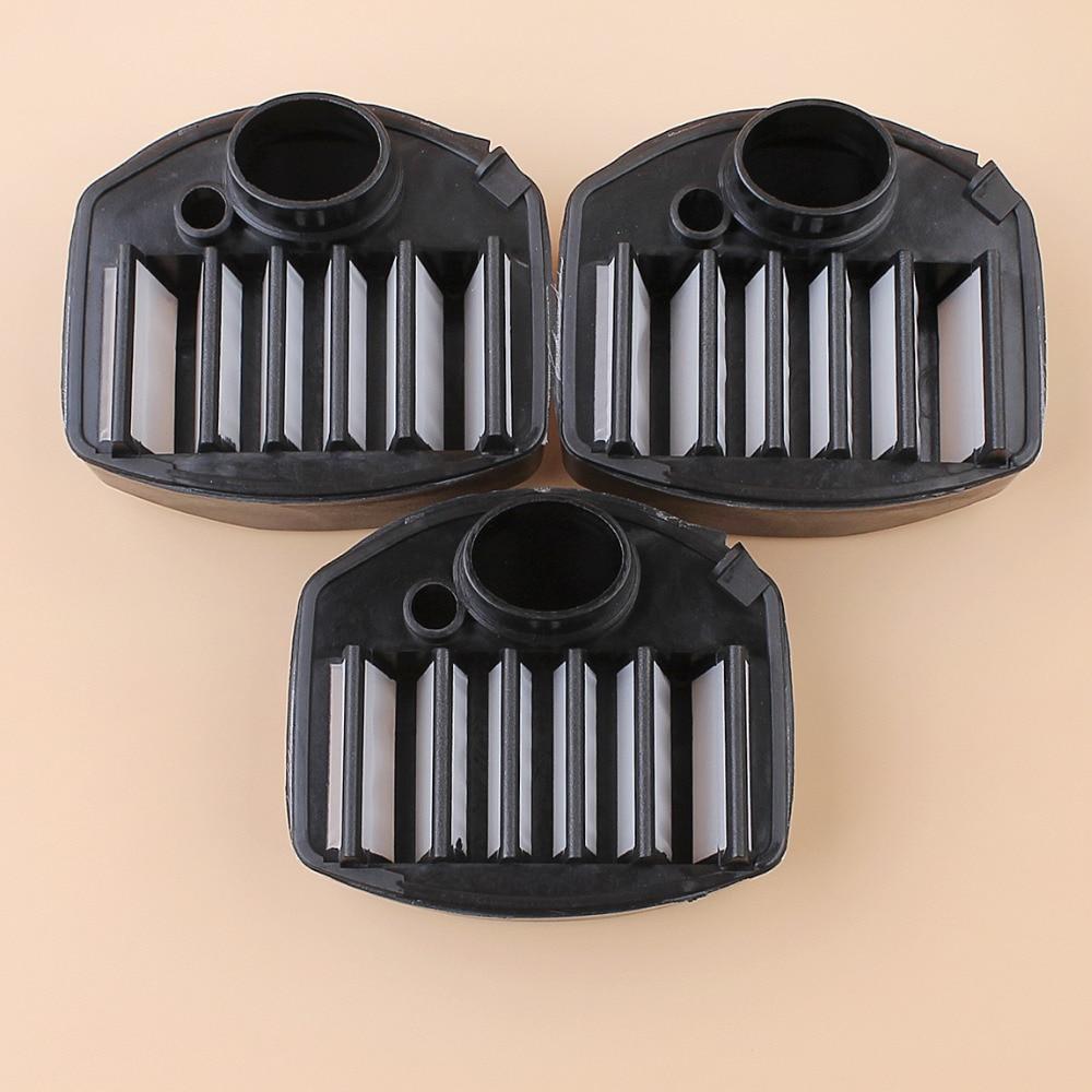 3Pcs/lot Nylon Air Filter Cleaner For Husqvarna 357 XP 357XP 359 EPA Chainsaw Parts 537010901