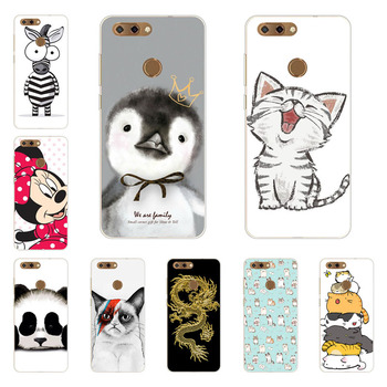 zte blade V9 case,Silicon Super cat Painting Soft TPU Back Cover for zte blade V9 protect Phone shell