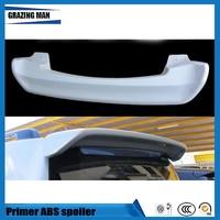 Apprêt ABS aileron arrière non peint avec lumière pour LC200 2008 2015 Ailerons de voiture     -