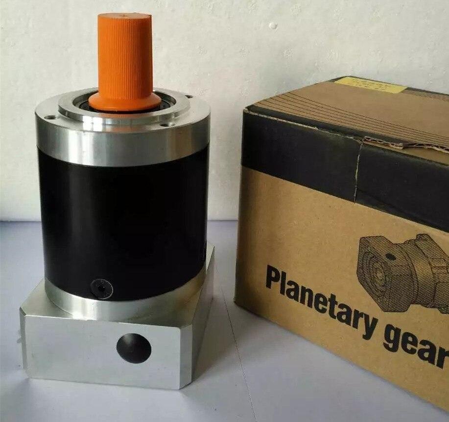 PL080-010 circular economic planetary gear reducer ratio 10:1 for Delta panasonic 750w AC servo motor NEMA34 stepping motor dvopm20036 for panasonic servo motor