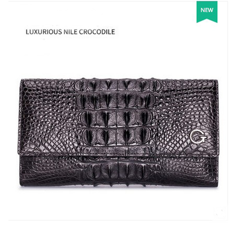 2018 gete new hot crocodile leather women bag women wallet day clutch bag yuanyu 2018 new hot free shipping real python leather women clutch women hand caught bag women bag long snake women day clutches