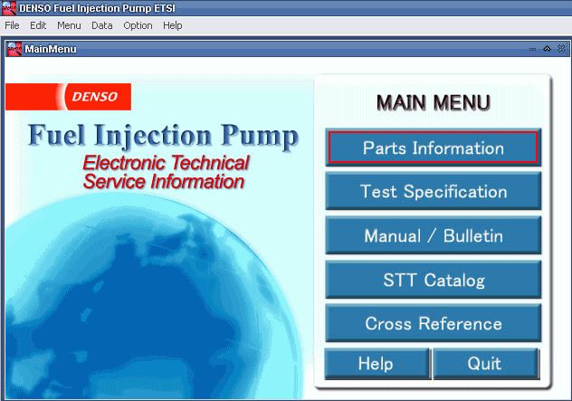 For Denso Fuel Injection Pump ETSI 2015