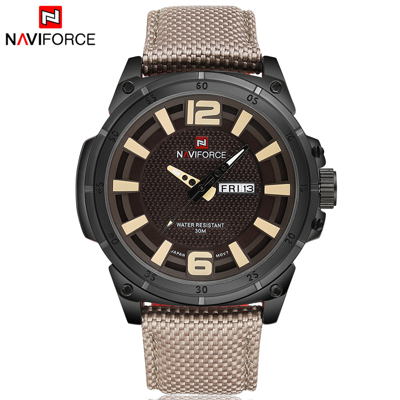 Men Sports Watches Quartz Military Luxury Brand Date-Clock Men's Casual Fashion Strap
