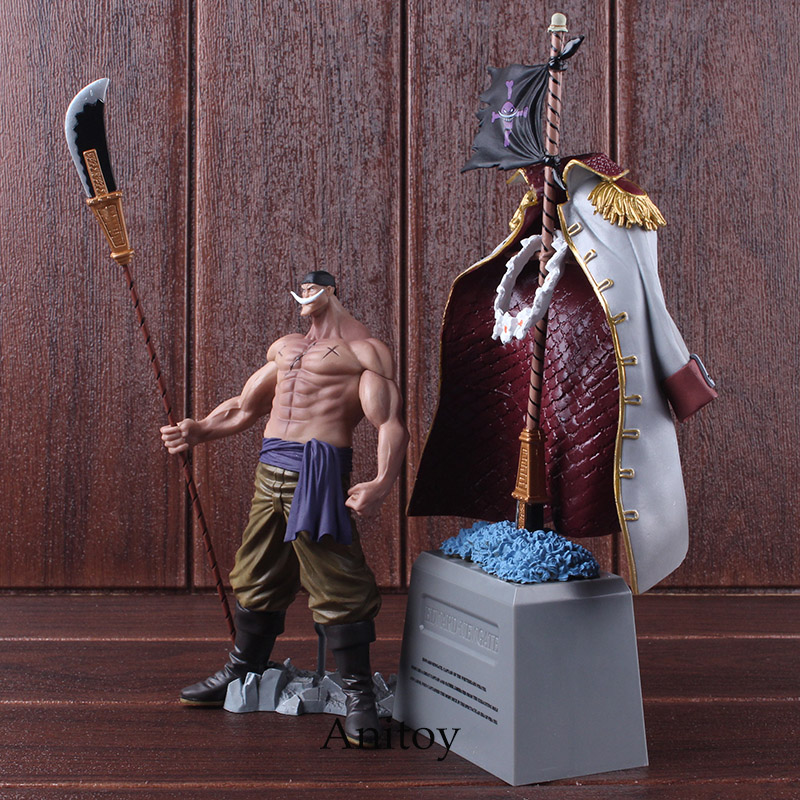 DXF One Piece Figure The Grandline Men Special Whitebeard Edward Newgate & Gravestone PVC Action Figure Collectible Model Toy 4