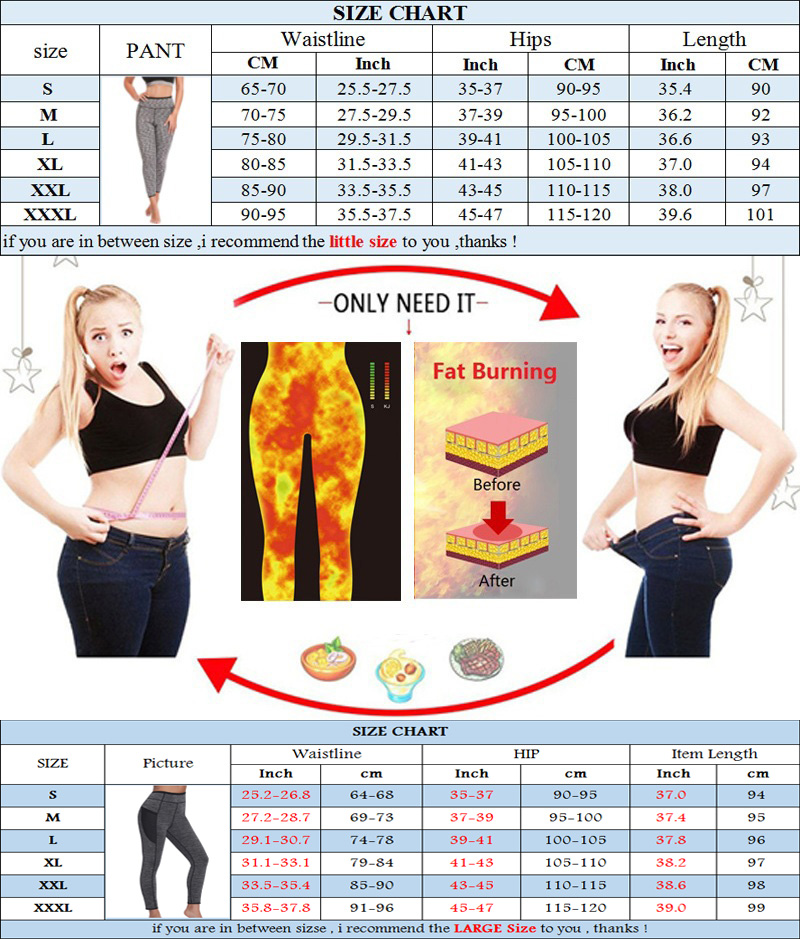 NINGMI Fitness Tights Neoprene Hot Pants Sweat Sauna Waist Trainer Control Panties Sexy Butt Lifter Slimming Legging with Pocket in Control Panties from Underwear Sleepwears