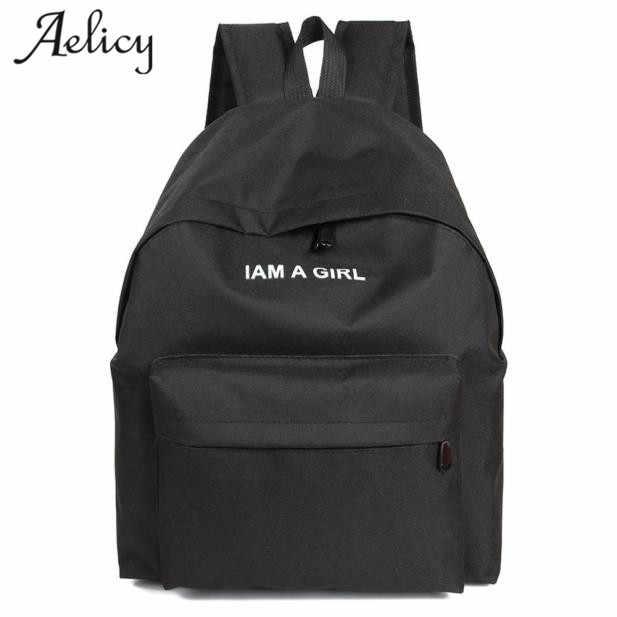 5e984f43c40b Aelicy модный школьный рюкзак унисекс школьная сумка Дамский рюкзак ноутбук  дорожные сумки для подростков девочек большой