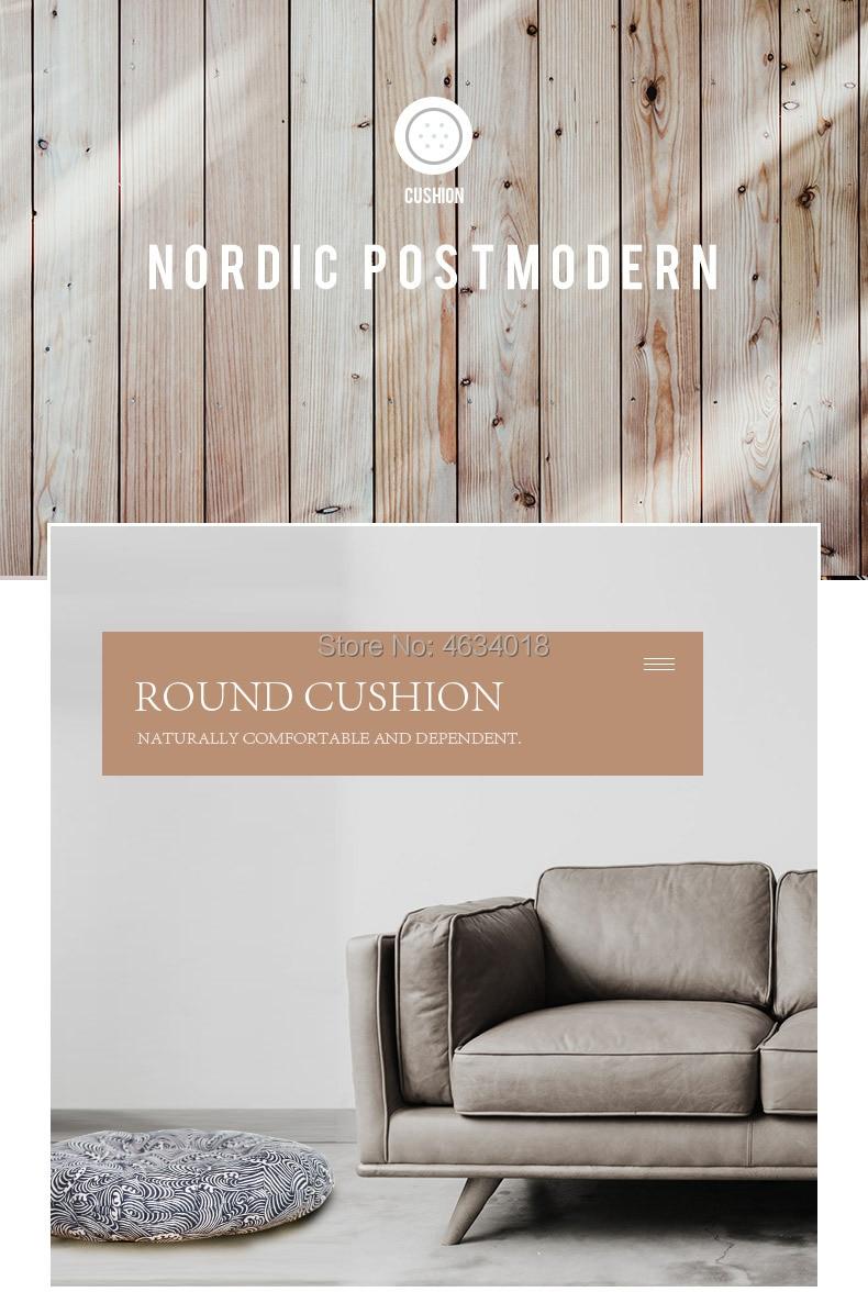 HTB16sNmXInrK1RjSspkq6yuvXXaN Round Cushion 38x38/43x43/48x48cm office chair sofa cushion tatami circular decoration seat cushion chair cushions wholesale