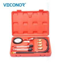 VECONOR 8 Cái spark plug xi lanh nén tester kit kiểm tra chuyên nghiệp gas engine bộ