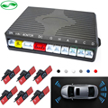 Dual Channel Car Video Parking Reverse Radar System 6 Sensor .