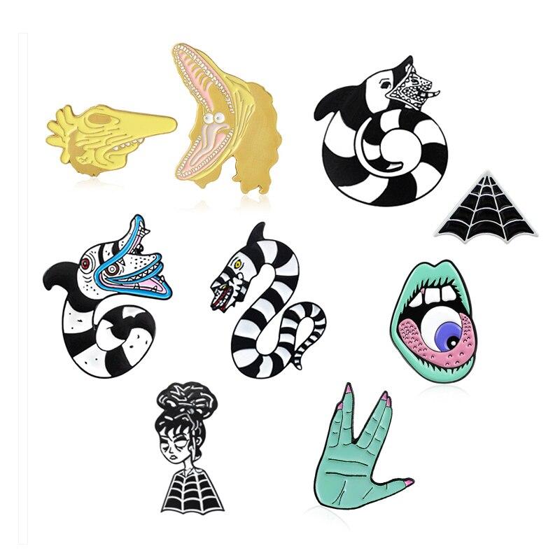 Chemical X Enamel Pin Badge Horror