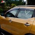 Humo Visera de La Ventana de Ajuste de La Cubierta Para Nissan Qashqai Vent Shade Lluvia/Sol/Viento Guardia Car Styling Para Qashqai 2016 Toldos Refugios