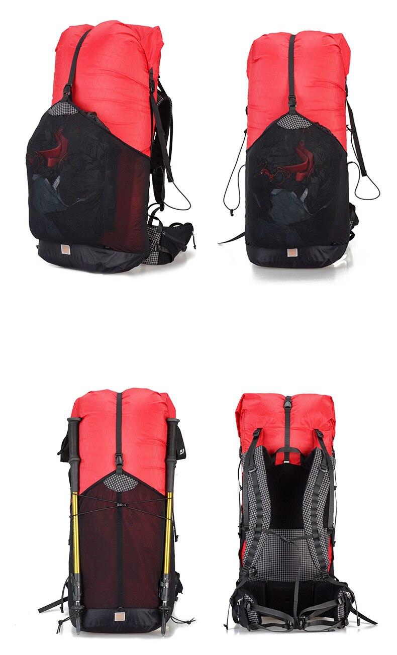 pacotes sacos de viagem leve durável acampamento caminhadas