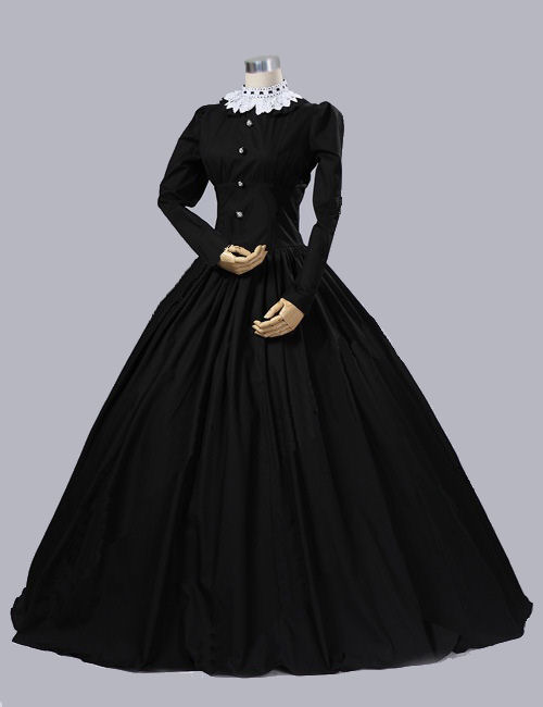 Ladies Victorian Queen Victoria Day Costume Gothic Dress Up Games And Makeovers-in Dresses from ...