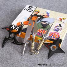 Naruto Shuriken Kunai Metal Toys