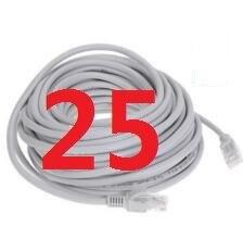 25 # laoke 2018 кабель высокого Скорость 1000 м RJ45 CAT6 сети Ethernet плоский кабель LAN UTP Патч-маршрутизатор Кабели