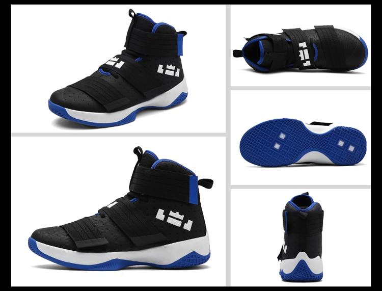 df571f0b4d 2017 zapatos de baloncesto de talla grande para hombre Zapatillas altas  transpirables para deportes al aire libre zapatos de entrenamiento para  hombre ...