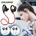 CBAOOO Sport Bluetooth Headphone Wireless Earphone Bluetooth Headset Waterproof noise reduction with Microphone for android ios