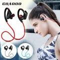 CBAOOO deporte auriculares Bluetooth auriculares inalámbricos Bluetooth auriculares reducción de ruido resistente al agua con micrófono para android ios