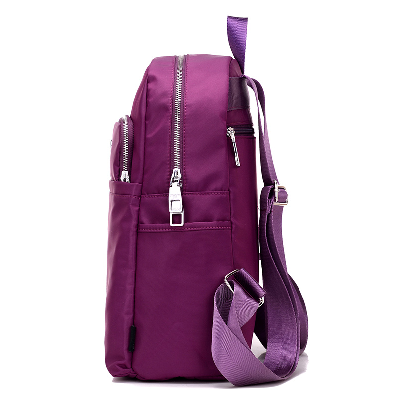 2017 New women bag Oxford female Korean version of the wild college wind nylon bag Mommy simple fashion travel female backpack