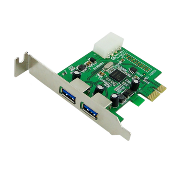 PCI-E to USB3.0 PCI-Express to USB3.0 to PCI-E transfer card Free shipping (with CD)
