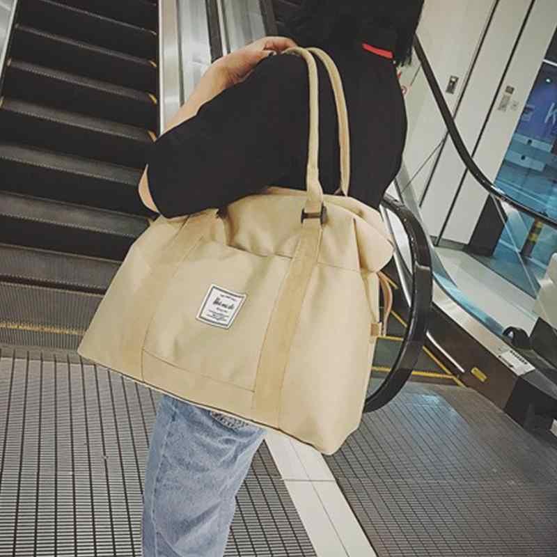 Seyahat depolama silindir çanta kol çantası arabası el bayanlar çanta seyahat gecede çanta ve bagaj kadınlar için ambalaj küpleri