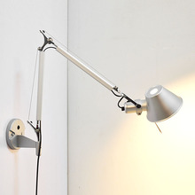 Retro Loft Industrial Vintage Led Wall Lamp light With Long Arm 58+56cm Sconce Indoor Decoration Bar Restaurant Bedroom Art Lamp цена 2017