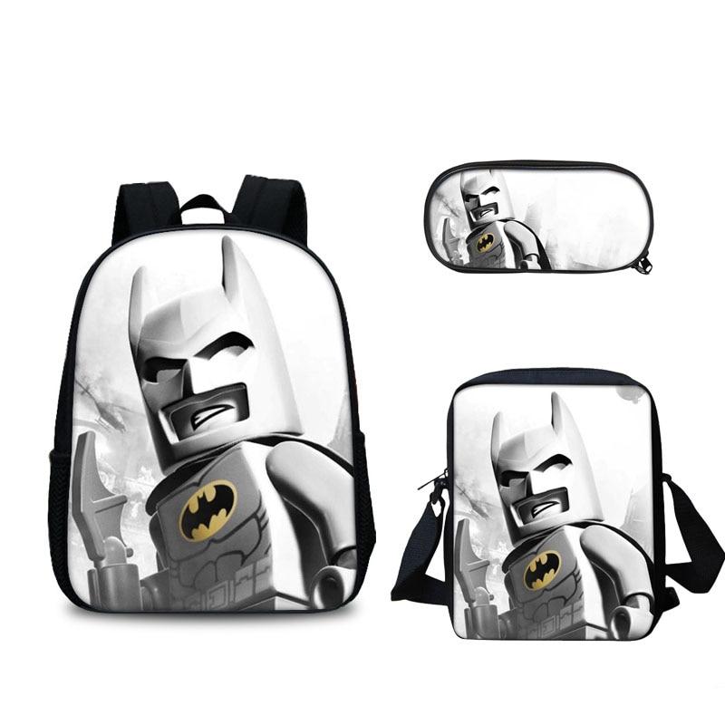 2018 new fashion backpack cartoon Movie Lego Ninjago Pattern School Bag Hot Sale Kids Cartoon Lego Iron Man Batman Star War bag максисвет подвесная люстра максисвет классика 2 4210 6 whs e14
