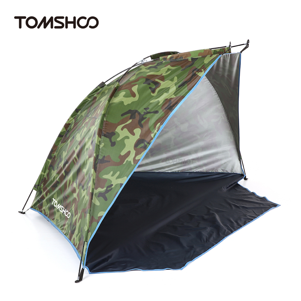 TOMSHOO Outdoor Beach Tent Shelter 2 Persons Summer UV Protecting Tent Sports Sunshade Camping Fishing Tent for PicnicTOMSHOO Outdoor Beach Tent Shelter 2 Persons Summer UV Protecting Tent Sports Sunshade Camping Fishing Tent for Picnic