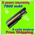 Jigu bateria de 9 células para ibm thinkpad lenovo t60 t61 r60 r61 z60 bateria 92p1133 42t4619 42t4511