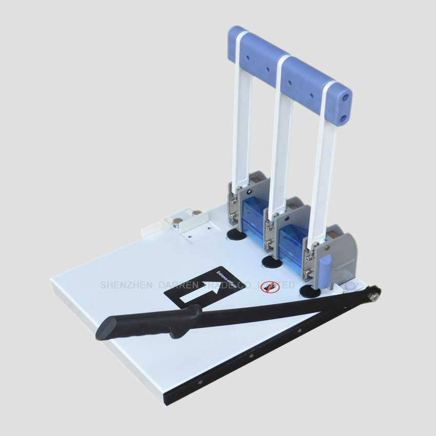 3PC Heavy Duty Ream Guillotine A4 Size Stack Paper Cutter Paper Cutting Machine punching machine with