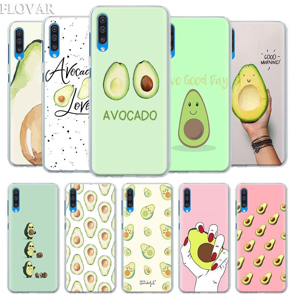 Funny Tumblr avocado Case Cover for Samsung Galaxy A30 A40 A50 A70 A6 A8 Plus A7 A9 2018 M30 Phone Coque