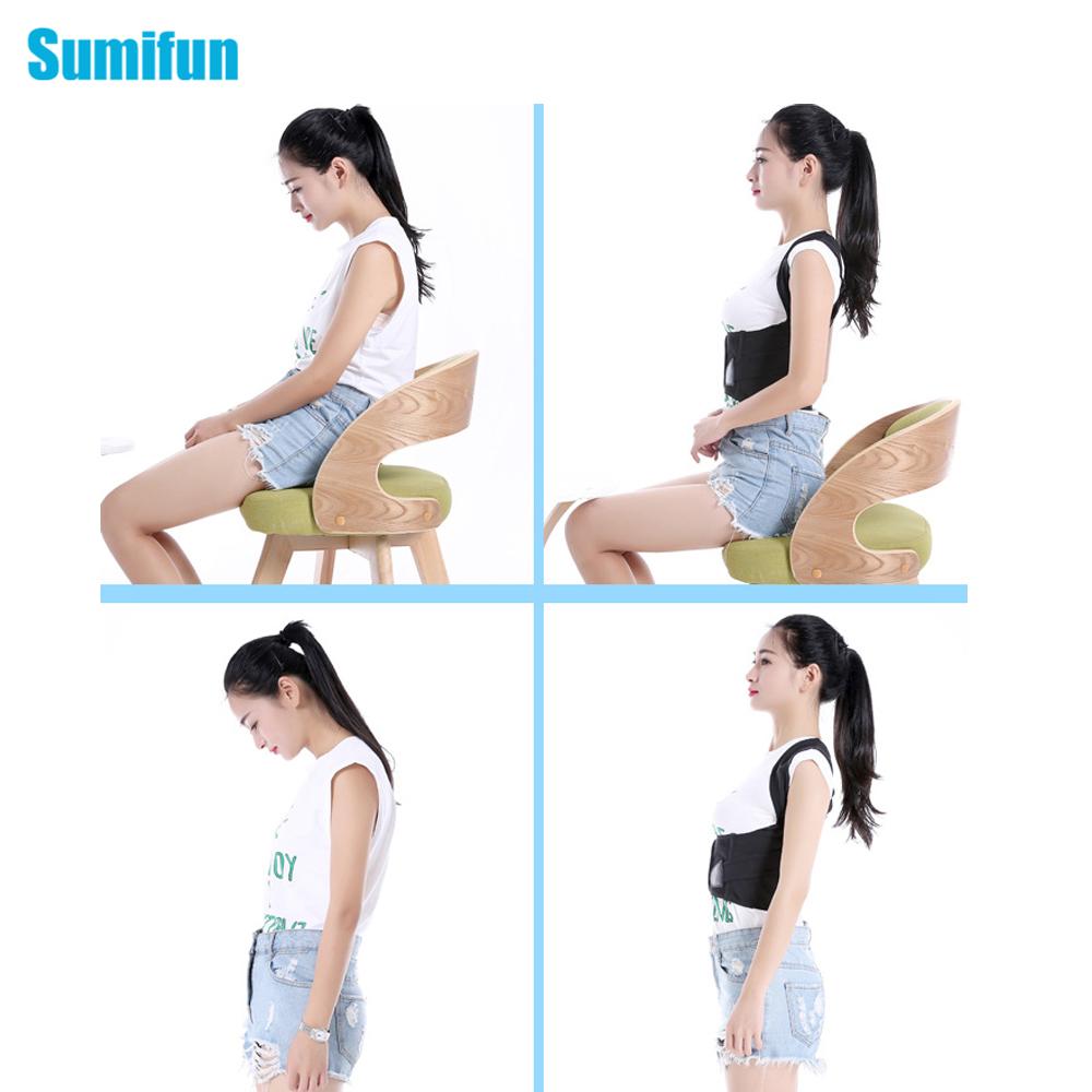 1 Unids Magnética Del Hombro Terapia Volver Corrector de Postura, Unisex Soporta Tirantes Cinturones Para Volver Enderezar Postura Correcteur C776