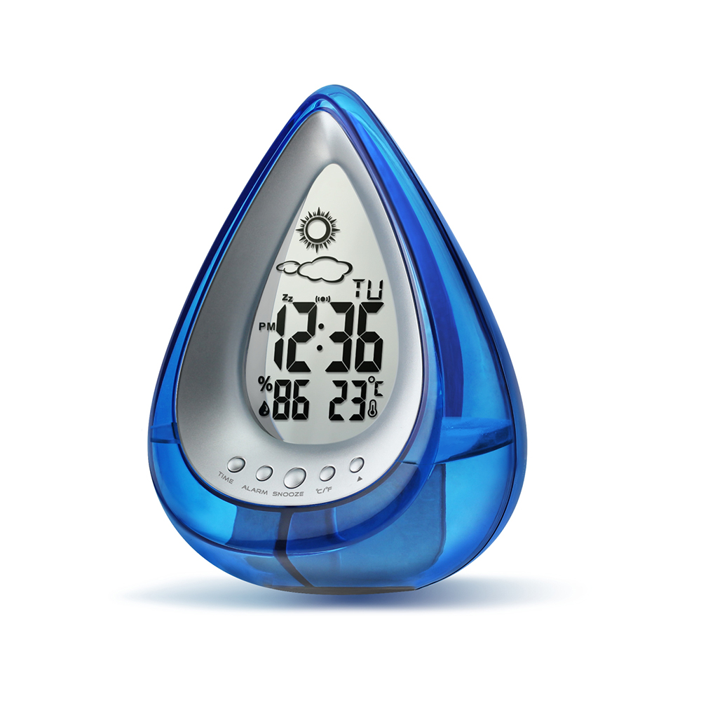Water Powered Eco-friendly Digital Clock 36
