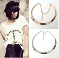 collier femme maxi necklace collares statement Bohemia choker statement joyeria jewelry women femme colares Circle vintage 3469