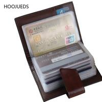 ID Credit Card Holder Organizer Pocket Name Business Card Holders 26 Slots For Men HOOJUEDS