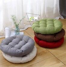 45cm Round Shape Cotton Linen Cushion Pad Yoga Mat Tatami Floor Window Chair Seat