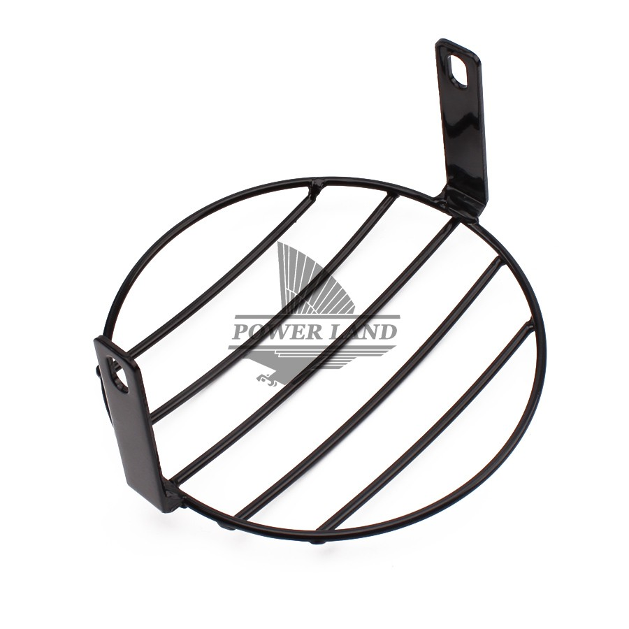 universal fit for honda yamaha kawasaki chopper motorcycle vintage Old School Choppers universal fit for honda yamaha kawasaki chopper motorcycle vintage old school metal grill side mount 7 4 headlight cover mask in headlight bracket from
