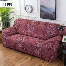 Богемный стиль, эластичные универсальные чехлы для диванов, секционные Угловые Чехлы для диванов, чехлы для мебели, кресла, домашний декор