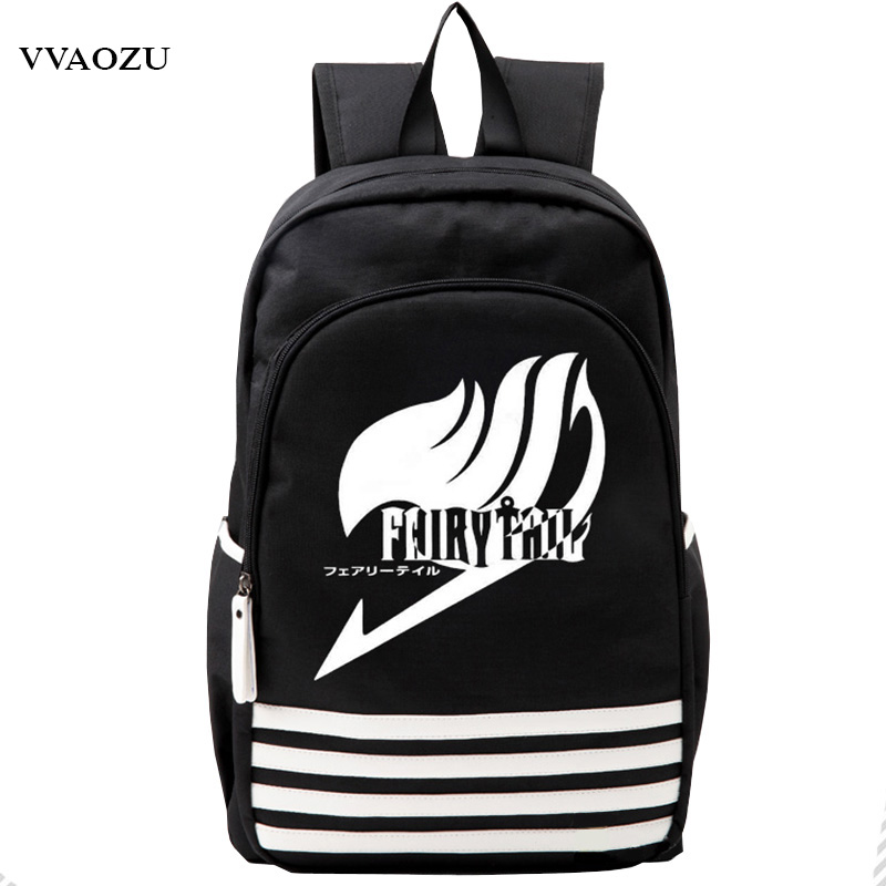 Japan Anime Fairy Tail Cosplay Backpack School Bag for Teenagers Oxford Travel Shoulder Bags Rucksack Mochila Escolar