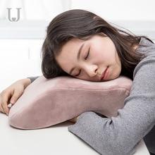 цена на Xiaomi Jordan&Judy Multifunctional Nap Pillow Lumbar Vertebrae Cervical Pillows Skin-friendly Breathable Office Nap Pillow
