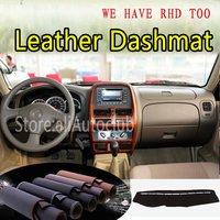For Nissan NP300 D22 PICKUP  Leather Dashmat Dashboard Cover Dash Carpet Custom Car Styling LHD+RHD