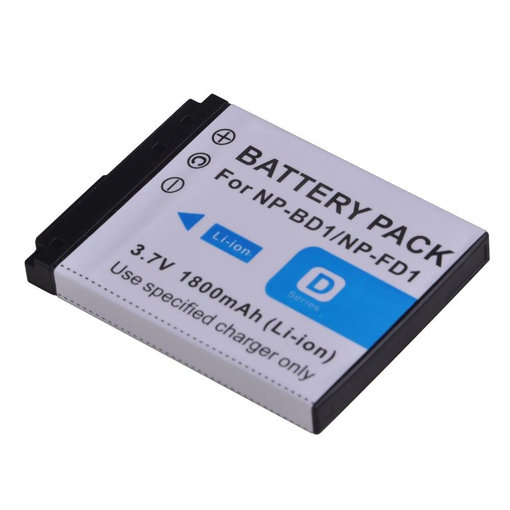 1 Pc 1800 mAh NP-FD1 NP-BD1 NP BD1 FD1 Batterie pour Appareil Photo Sony DSC T300 TX1 T900 T700 T500 T200 T77 T900 T90 T70 T2 G3 S930 Z11 Pc 1800 mAh NP-FD1 NP-BD1 NP BD1 FD1 Batterie pour Appareil Photo Sony DSC T300 TX1 T900 T700 T500 T200 T77 T900 T90 T70 T2 G3 S930 Z1
