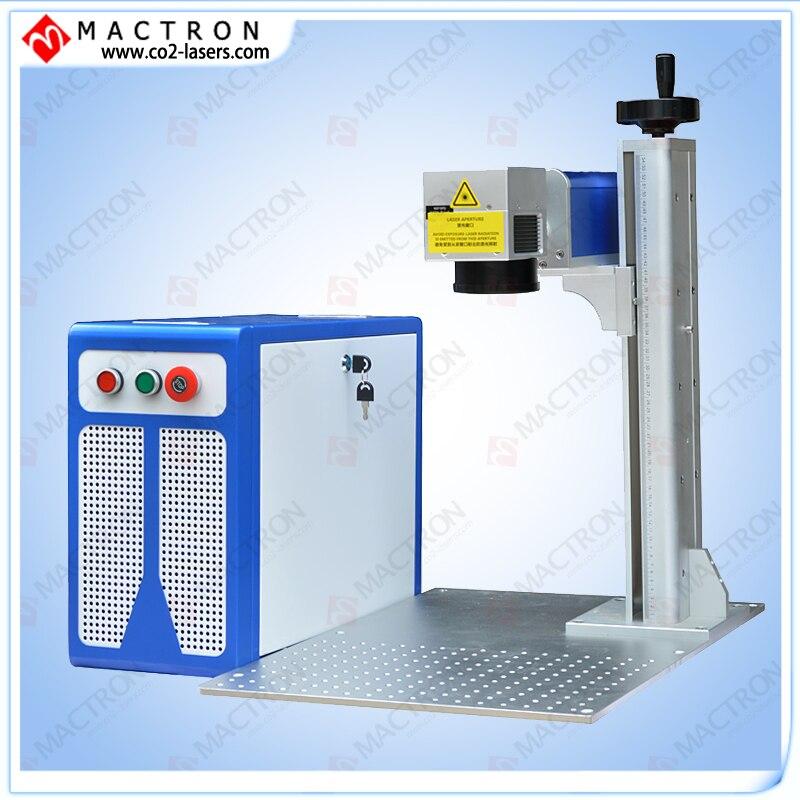 Máquina de marcador láser de fibra de escritorio de fábrica 20w, - Maquinaría para carpintería - foto 3