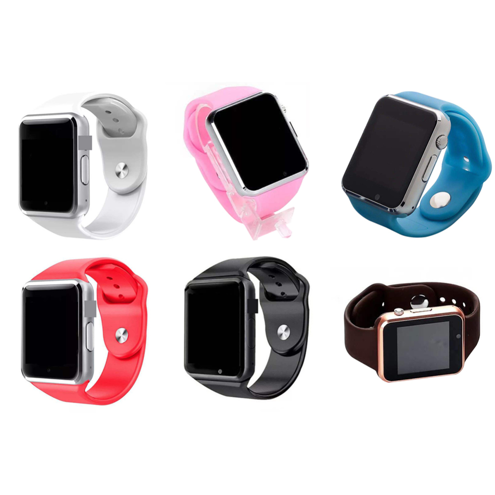 <font><b>U10</b></font> A1 <font><b>Smartwatch</b></font> SIM Bluetooth camera with Pedometer Anti-Lost Bluetooth Calling Smart Phone for Android iOS GSM Smartband image