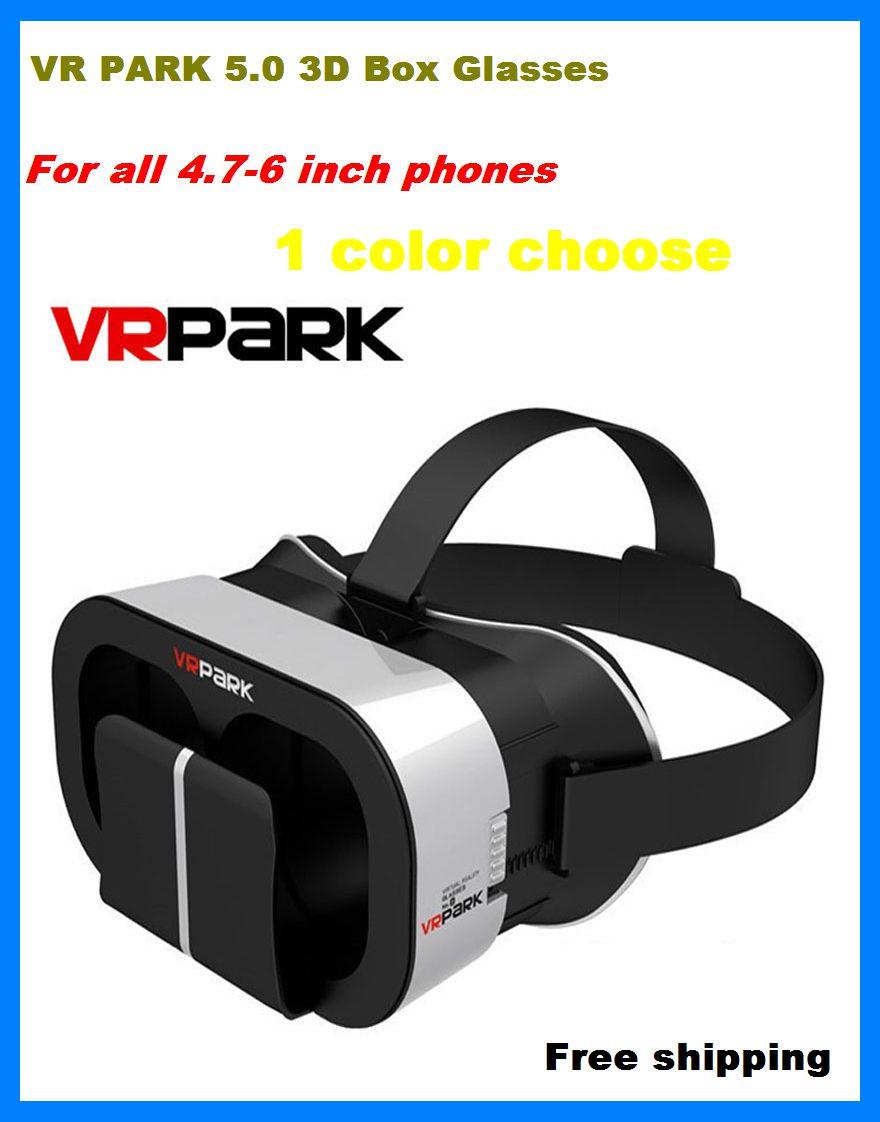 font b VR b font BOX 5 0 Virtual Reality 3D Glasses Google Cardboard font