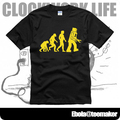 new 2017 free shipping The Big Bang theory of evolution Sheldon sitcom clothes men man male  t-shirt