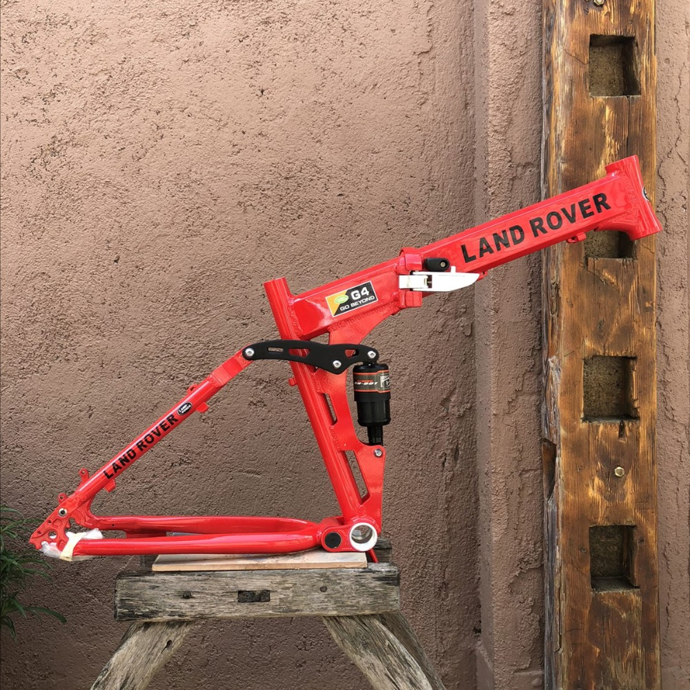 Mountain bike frame Folding frame 26 * 17