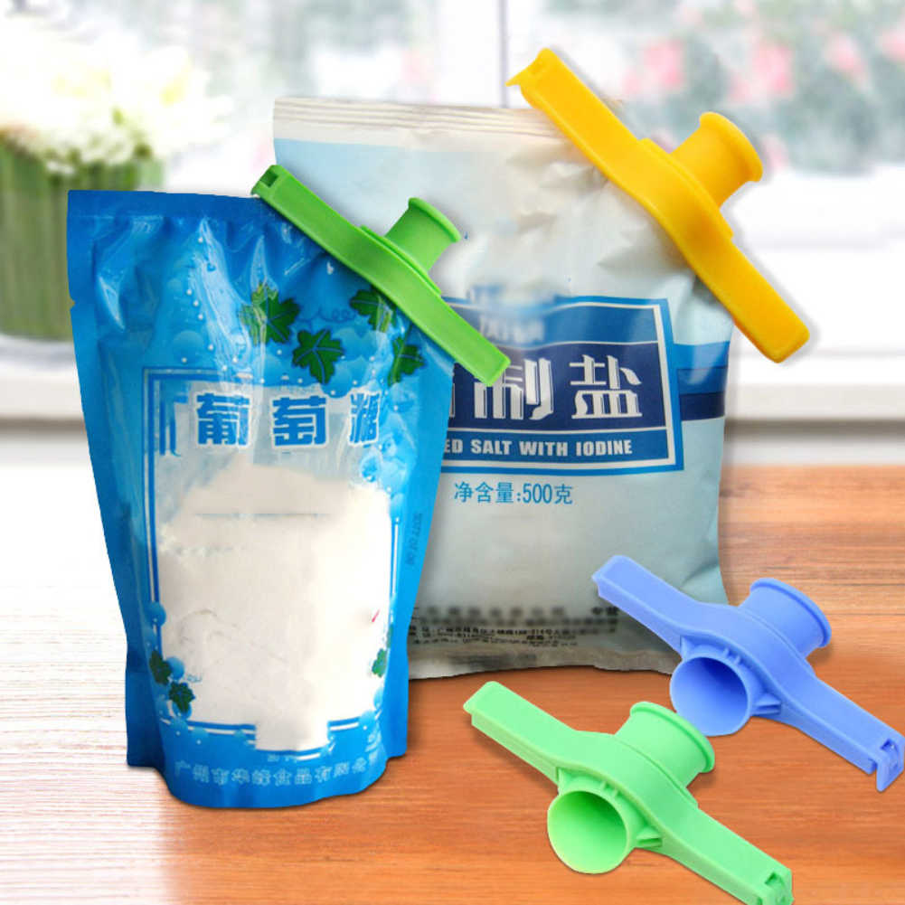 Sealed spout creative kitchen supplies sealing clip zero food packaging bag sealing clip