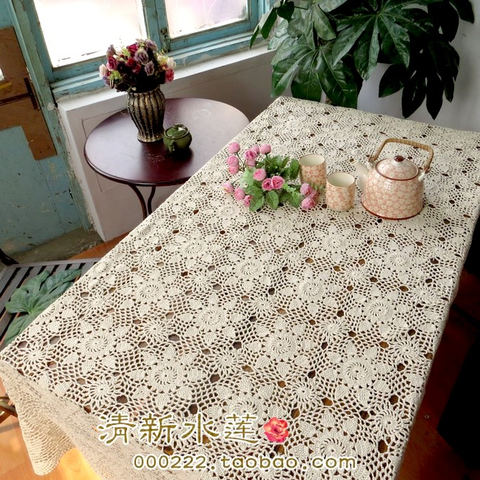 Free Shipping 2014 New Zakka Cotton Crochet Lace