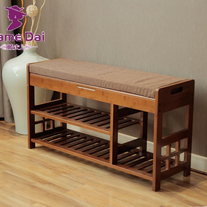 Contemporáneo Almacenamiento De Muebles De Tela Banco Composición ...